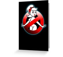The REAL Lady Ghostbusters - Rule #63 (Logo) Greeting Card