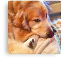 """""""Wesley"""" Painted Canvas Print"""