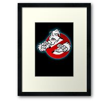 PNW: Ghostbusters Poster (logo) Framed Print