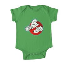 PNW: Ghostbusters Poster (logo) One Piece - Short Sleeve