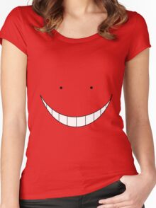 Assassination Classroom: Koro Sensei Women's Fitted Scoop T-Shirt