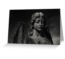 Winged Protector Greeting Card