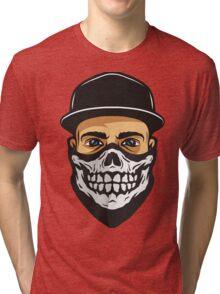 Masked Man Tri-blend T-Shirt