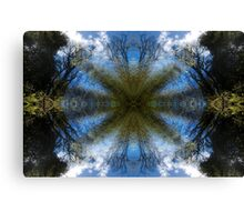 Blue Skies - A Meditative Photo Product Canvas Print