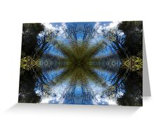 Blue Skies - A Meditative Photo Product Greeting Card