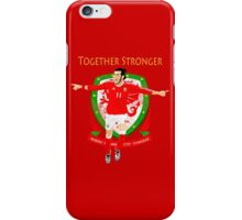 TOGETHER STRONGER, WALES, GARETH BALE, EURO iPhone Case/Skin