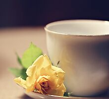 Tea Time and Roses by Trish Mistric