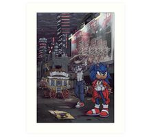 Sonic the Comic: Fight Another Day Art Print