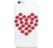 Flowers Make a Heart iPhone Case/Skin
