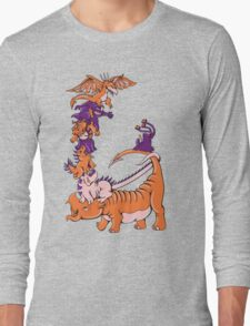 Dinosaur Dragons Long Sleeve T-Shirt