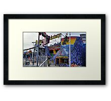 Pirates Hideaway Plus View Framed Print