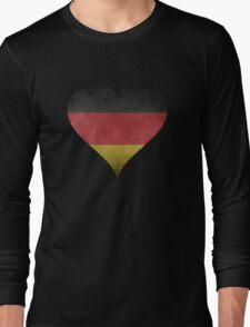 German Heart Long Sleeve T-Shirt
