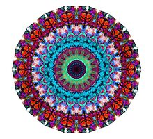 New Dawn Mandala Art - Sharon Cummings by Sharon Cummings