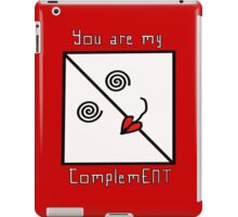 ComplemENT iPad Case/Skin