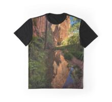 Coyote Gulch Canyon Reflection - Utah Graphic T-Shirt