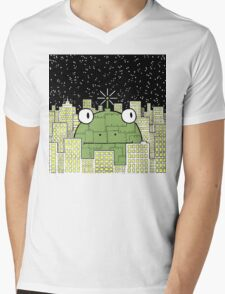 Rise of the Frog Machine Mens V-Neck T-Shirt