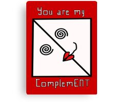 ComplemENT Canvas Print