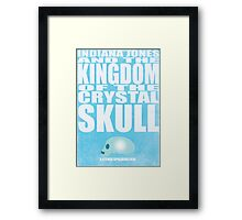 Indiana Jones and The Kingdom of The Crystal Skull Framed Print