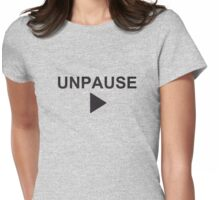 Unpause - How I Met Your Mother Womens Fitted T-Shirt