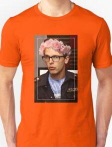 iDubbbzTV Flower Crown Unisex T-Shirt