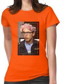 iDubbbzTV Flower Crown Womens Fitted T-Shirt
