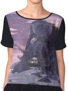 Steven Universe Night Temple Chiffon Top
