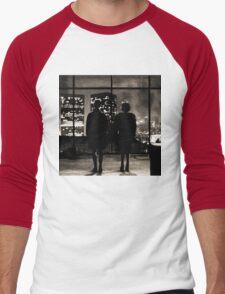 Fight club / last frame (sepia) Men's Baseball ¾ T-Shirt