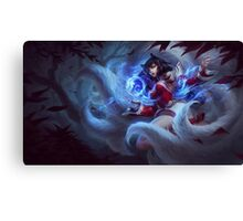 Ahri Splash Art Canvas Print