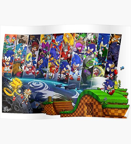 20 Years of Sonic Poster