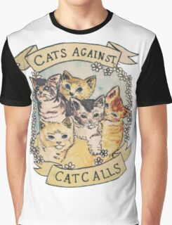 CATS AGAINST CATCALLS TUMBLR Graphic T-Shirt