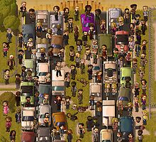 Super Walking Dead: Highway by StudioStobie