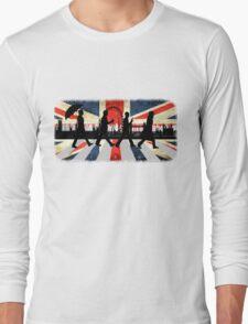 221B Abbey Road (Version One) Long Sleeve T-Shirt