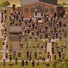 Super Walking Dead: Prison by StudioStobie