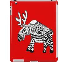 Hooper- red sweater Moose iPad Case/Skin