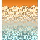 Japanese Waves by Steve Harvey
