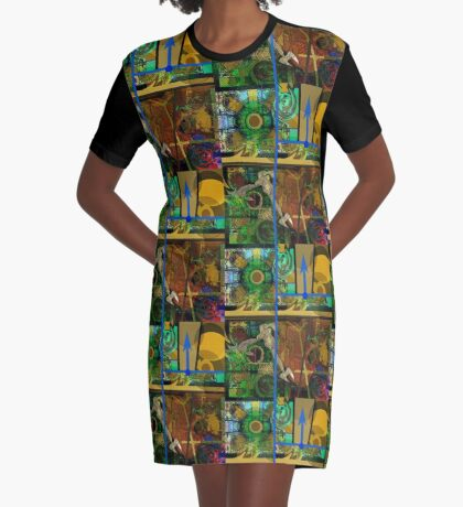 GRUNGY DISPOSITION COMPOSITION 7 Graphic T-Shirt Dress