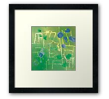 Up to Now - Childhood Framed Print