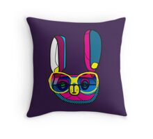 RabbitEars Throw Pillow