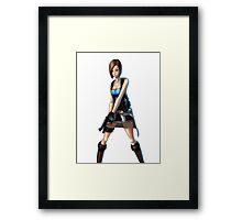 Jill Valentine Framed Print