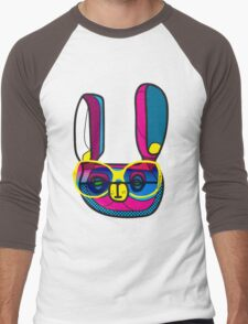 RabbitEars Men's Baseball ¾ T-Shirt
