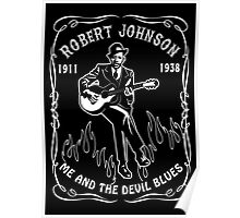 Robert Johnson (Me & the Devil Blues) Poster