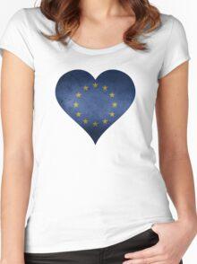European Heart Women's Fitted Scoop T-Shirt