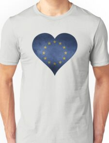 European Heart Unisex T-Shirt