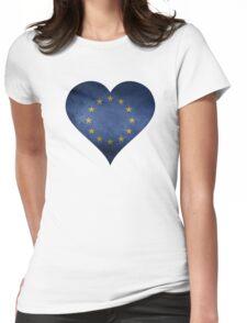 European Heart Womens Fitted T-Shirt