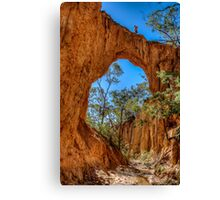 Up on the Golden Arch Canvas Print