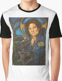 The Nostromo Madonna Graphic T-Shirt