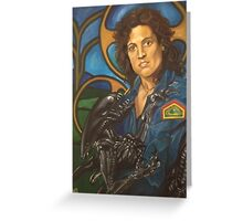 The Nostromo Madonna Greeting Card