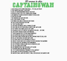 30 reasons to ship CaptainSwan Unisex T-Shirt