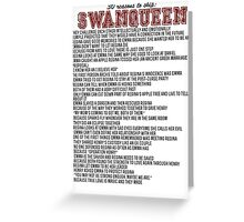 30 reasons to ship SwanQueen Greeting Card