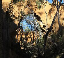 Arch at Golden Gully by ©Josephine Caruana